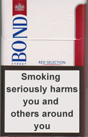 Bond Street Smart Red 8 Cigarettes pack