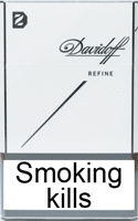 Davidoff Refine White Cigarettes pack