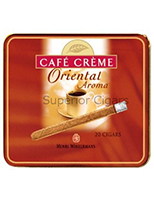 Henri Wintermans Cafe Creme Arome Oriental Cigarettes pack