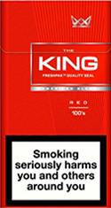 King Classic 100's Cigarettes pack