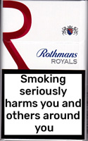 Rothmans Royals KS Red Cigarettes pack