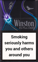 Winston XS Plus Duo Cigarettes pack