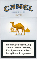 Camel Super Lights (Silver) Cigarettes pack