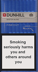 Dunhill Fine Cut (Master Blend) Cigarettes pack