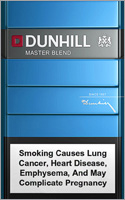 Dunhill Lights (Blue) Cigarettes pack