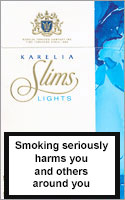 Karelia Slims Lights (Blue) 100`s