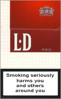 LD Red Cigarettes pack