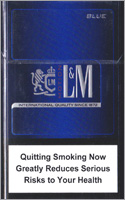 L&M Motion Blue(mini) Cigarettes pack