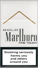 Marlboro Gold Fine Touch Cigarettes pack