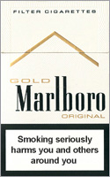 Marlboro Lights (Gold) Cigarettes pack