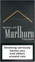 Marlboro Gold Touch Cigarettes pack