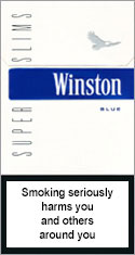 Winston Super Slims Blue 100`s