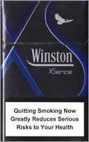 Winston XSence Blue(mini) Cigarettes pack